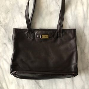 Vintage Ralph Lauren Leather Tote